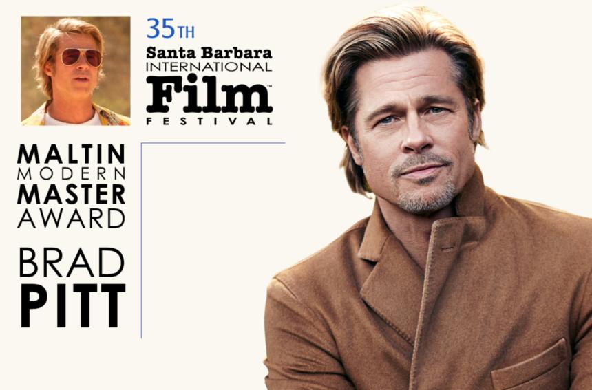 Brad Pitt SBIFF ad