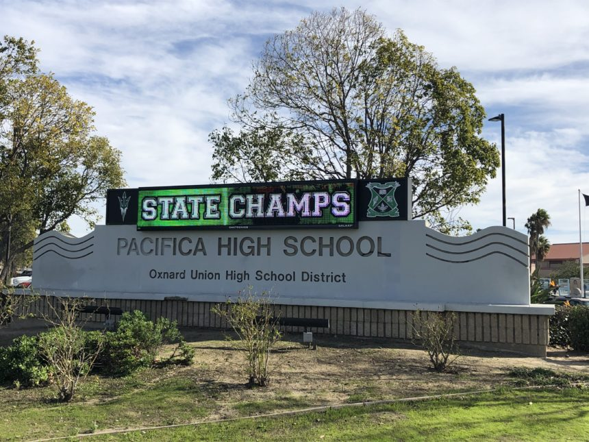 Pacifica High School football State Champs