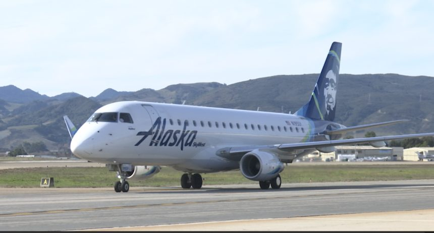 Alaska Airlines SLO Airport