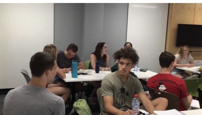 Cal Poly students in Australia