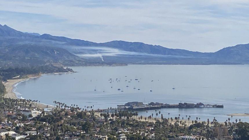 Controlled burn in Santa Barbara County