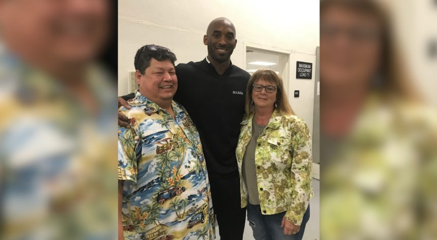 Mike Alexander and Kobe Bryant