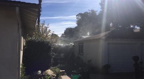 Santa Barbara vehicle fire