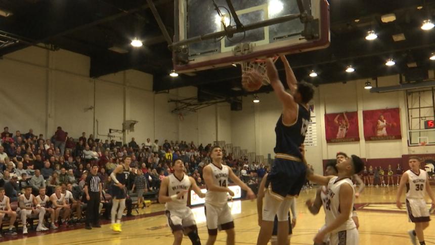 Westmont men's basketball vs The Master's