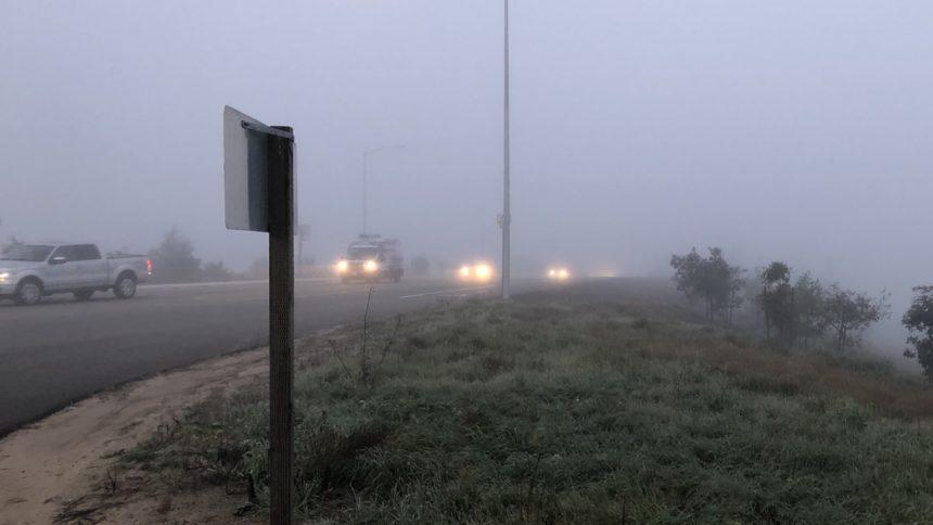 Dense fog impacting morning commute in several local communities - KEYT | KCOY