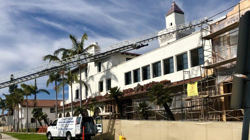 hyatt hotel fire