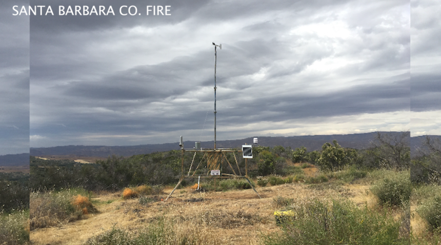 sb county weather station