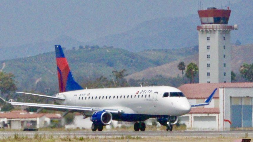 delta at santa barbara airport