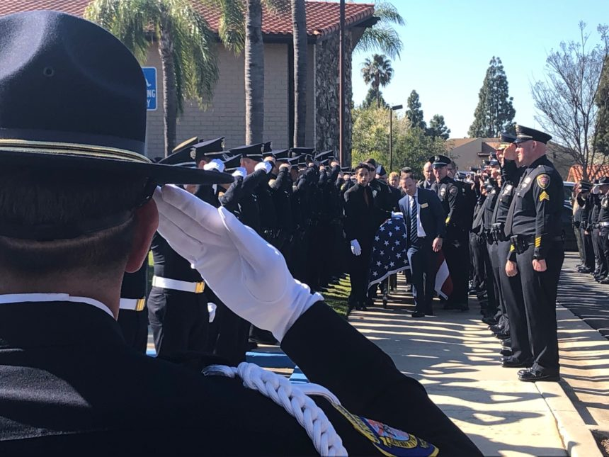 Memorial for Oxnard fallen officer Nathan Martin