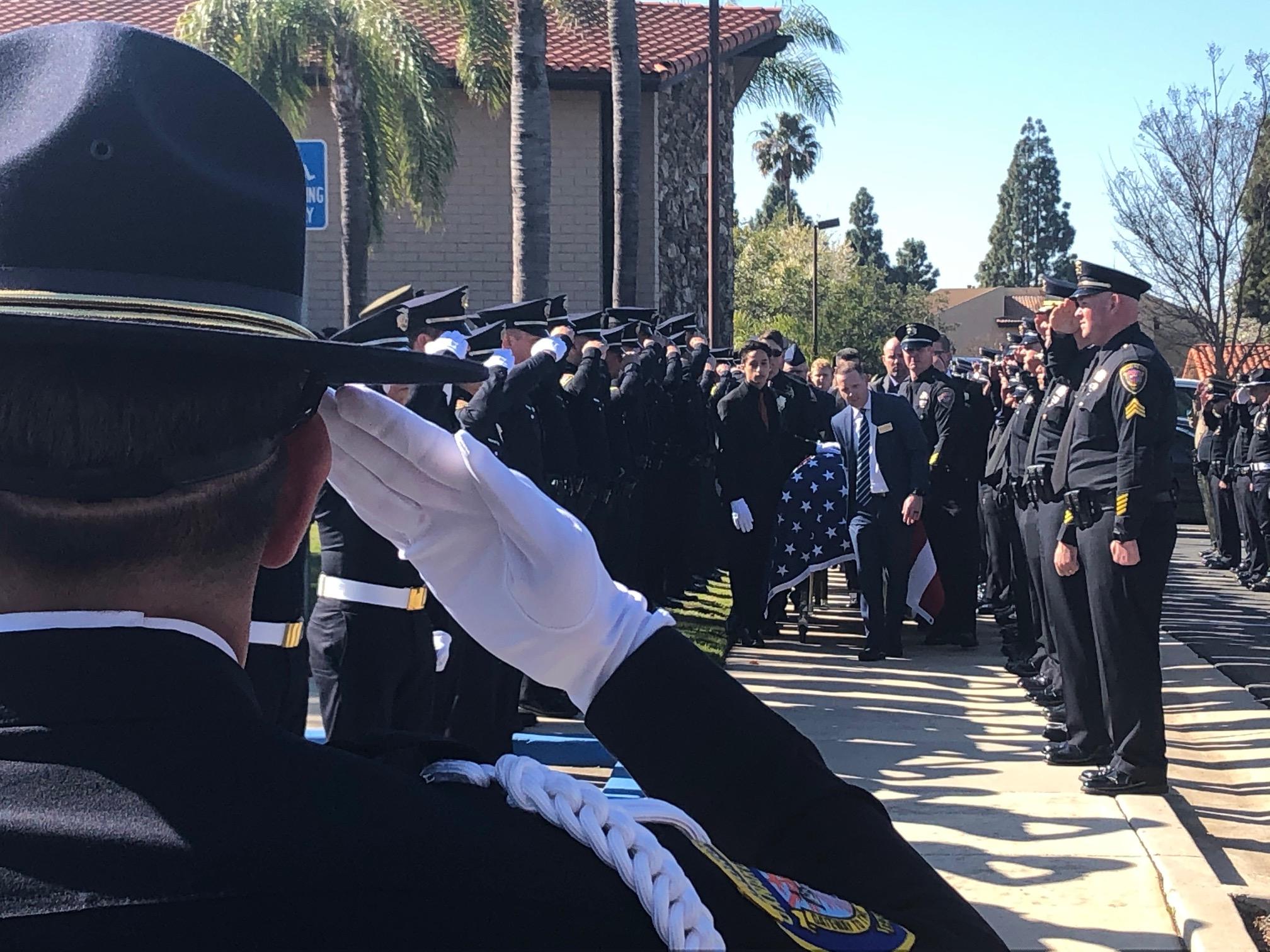 Memorial for Oxnard fallen officer Nathan Martin