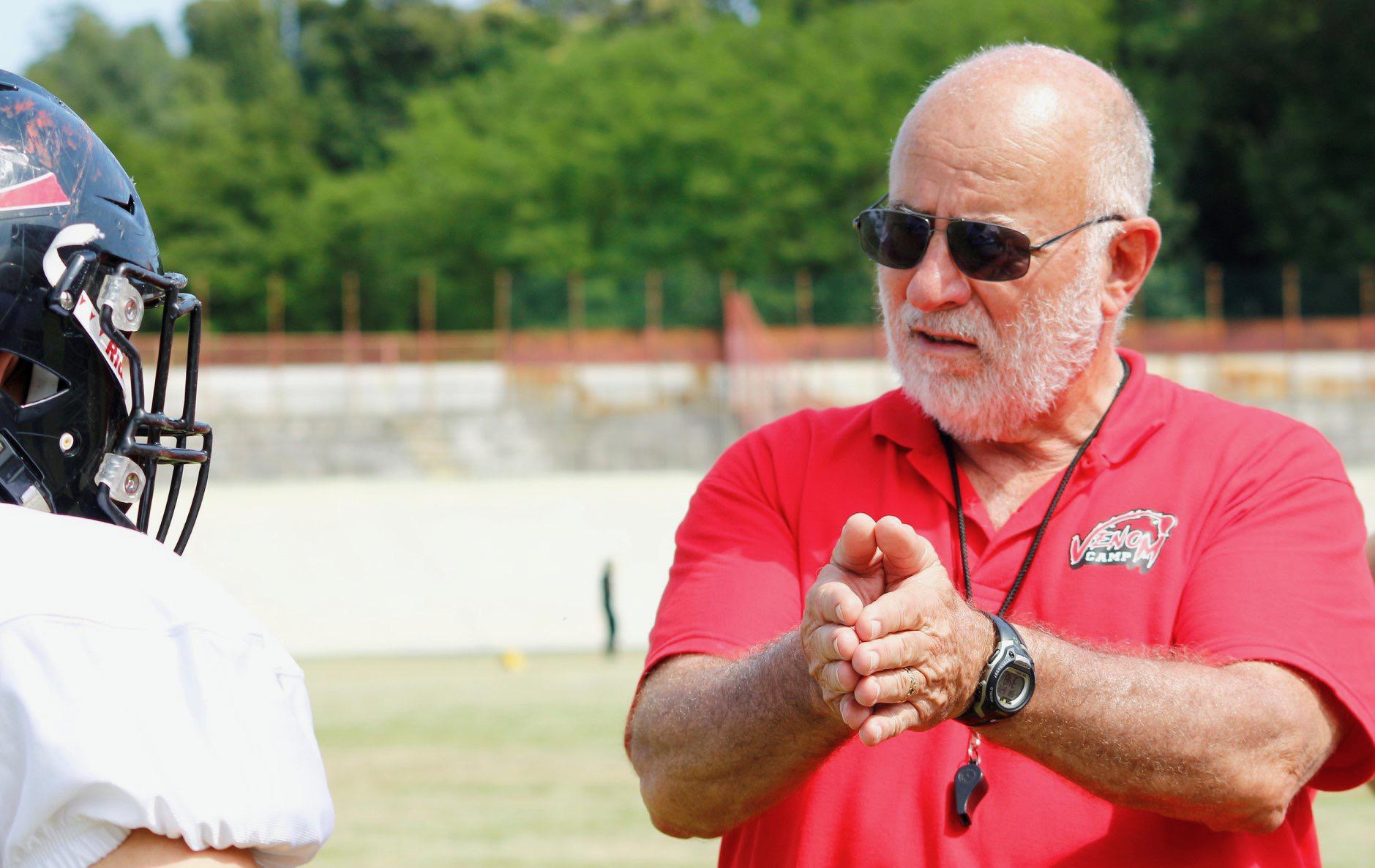 Ventura County football coach in Italy in lockdown