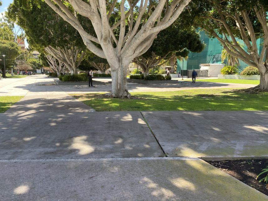 UC Santa Barbara empty
