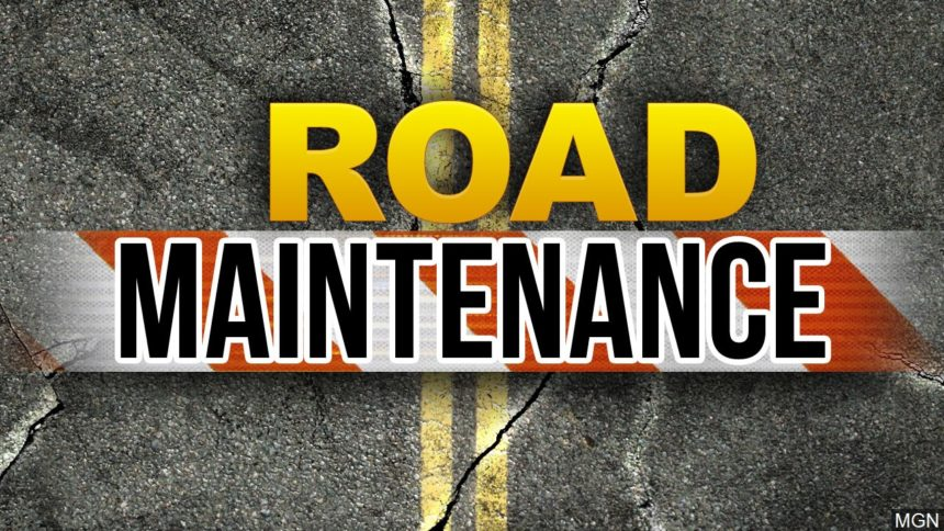 KEYT road maintenance repair