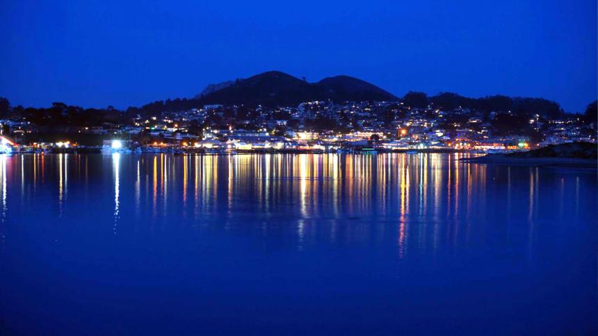 Morro Bay generic morro bay at night