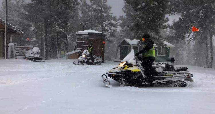 Snow Summit ski patrol