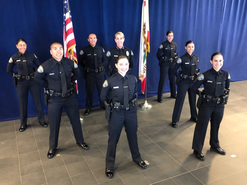 new sbpd officers