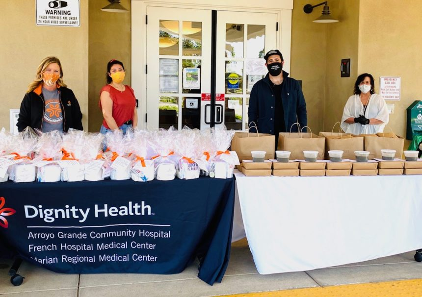 Dignity Health helps bring personal hygiene kits and warm ...