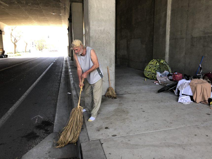 Homeless Sweep