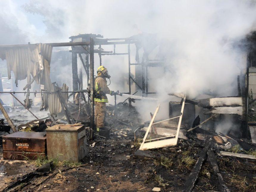 Firefighters knock down fire in Nipomo