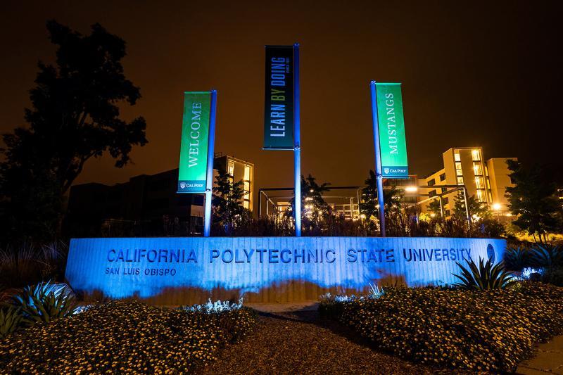 Cal Poly Grand Entrance