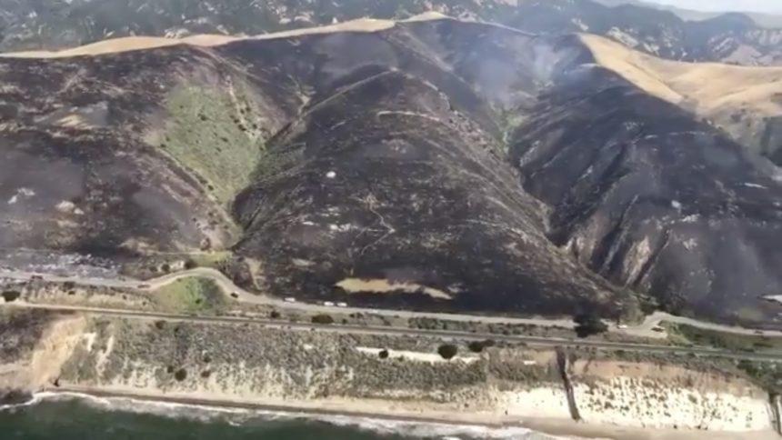Hollister Fire aerial