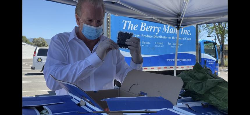 USDA Berry Man program