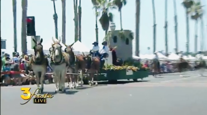 Parade known for its horses