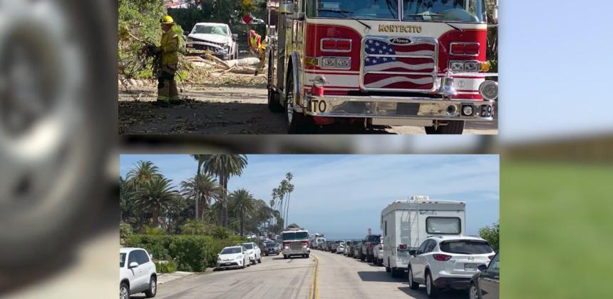 Montecito fire parking