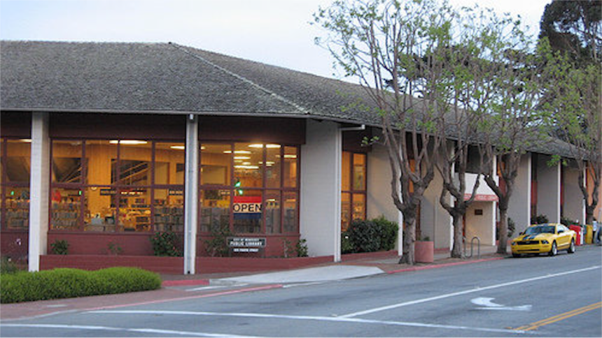 monterey public library exterior