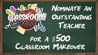 Classroom Makeover Promo Box