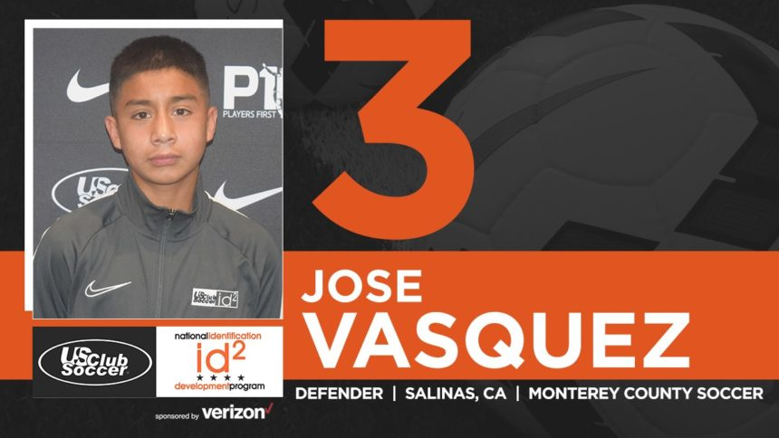 jose vasquez soccer club id