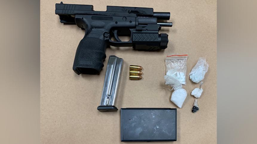 salinas gun drug arrest rodriguez