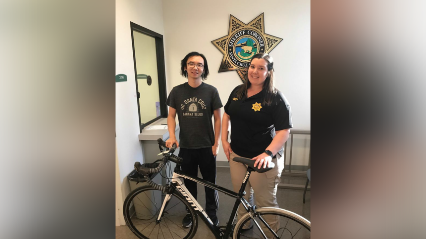 stolen bike returned santa cruz