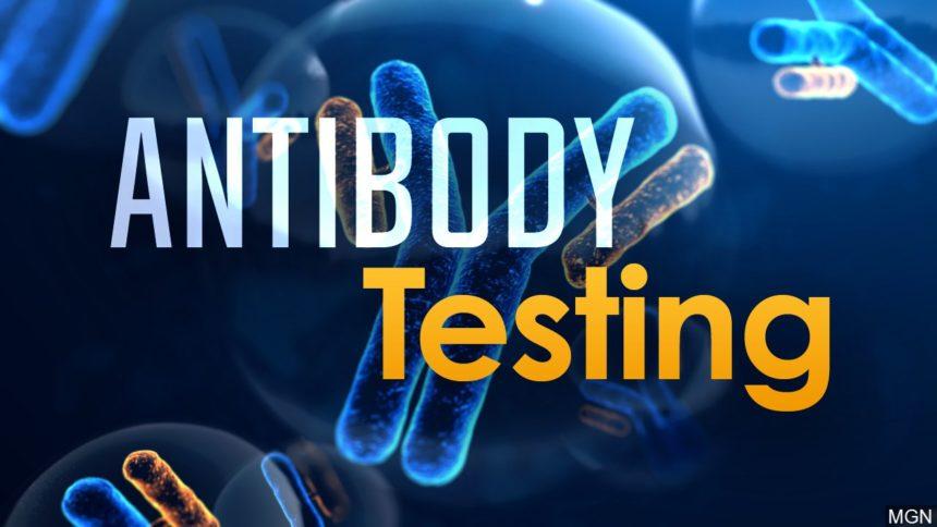 antibody testing graphic