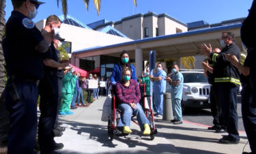 KION EXCLUSIVE: Recovered COVID-19 patient released from Watsonville hospital after incredible recovery