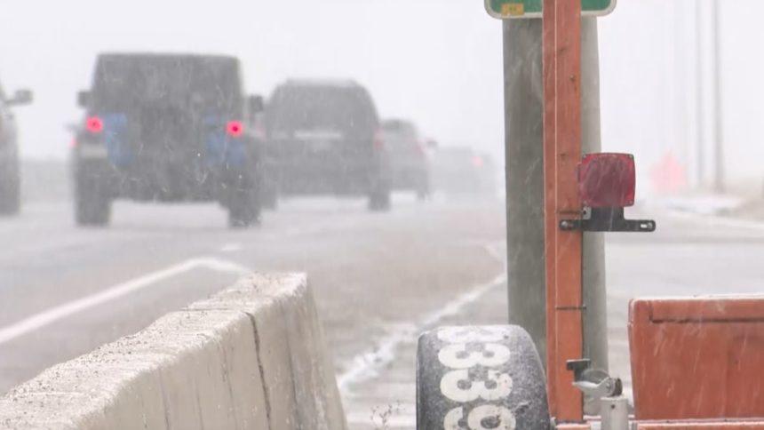 I-25 snow