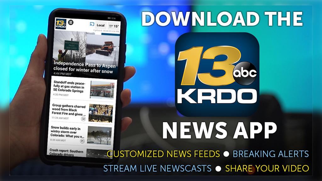 KRDO App Promo Tile