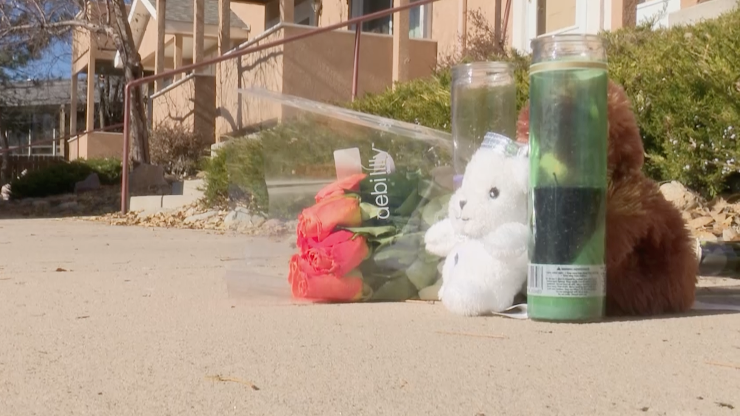 Memorial for 15-year-old Isaac James who was shot and killed Friday night