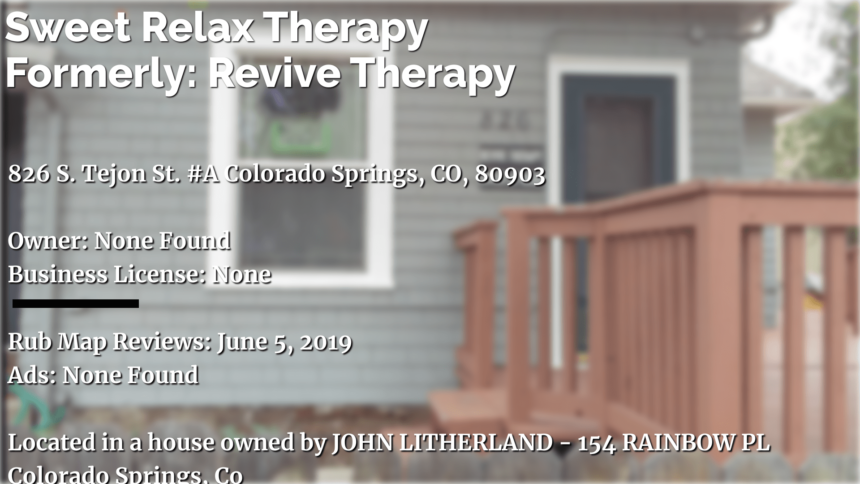Sweet Relax Therapy