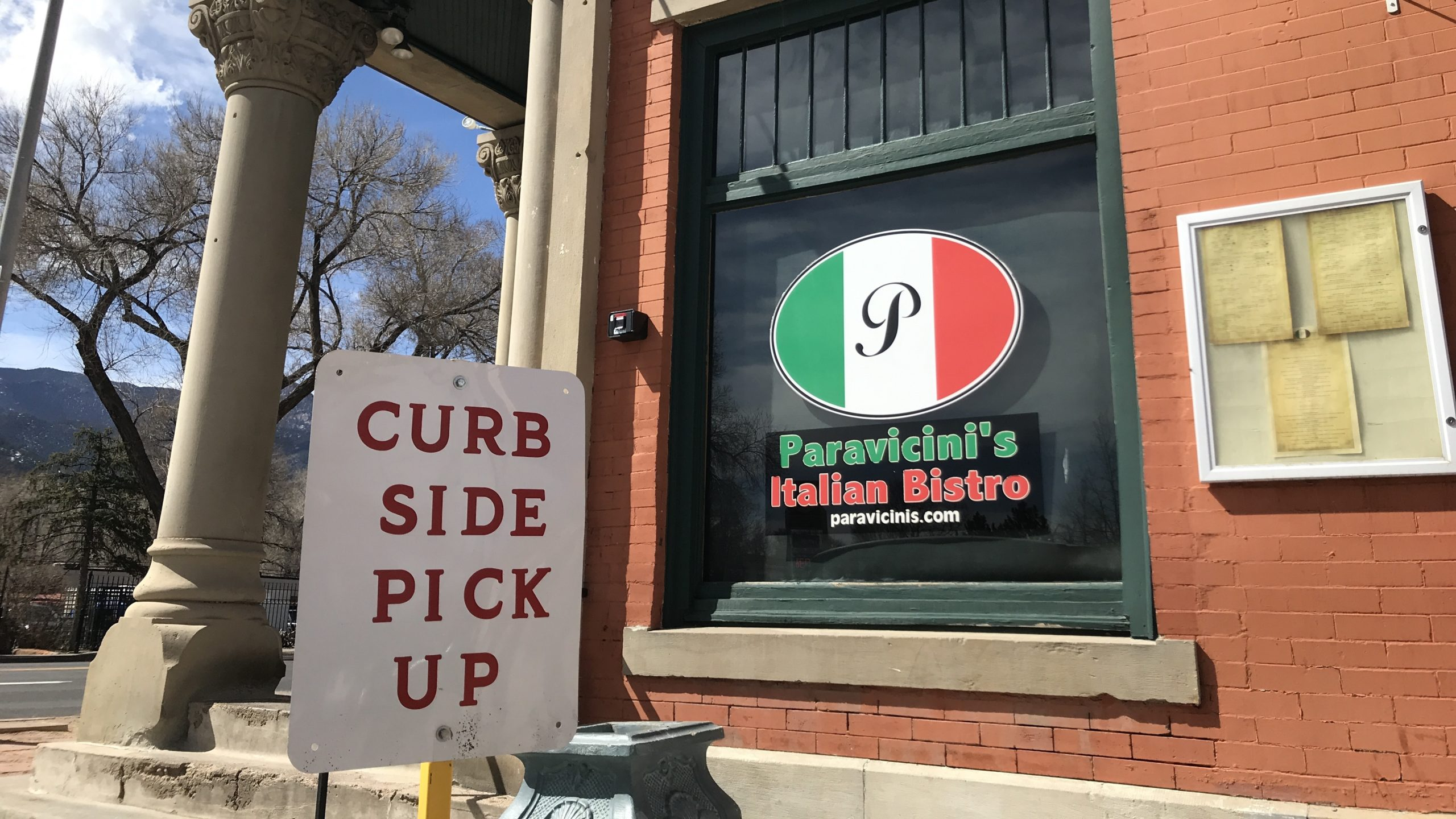 Paravicini's Italian Bistro in Colorado Springs adds curb side pick up service amid Coronavirus fears