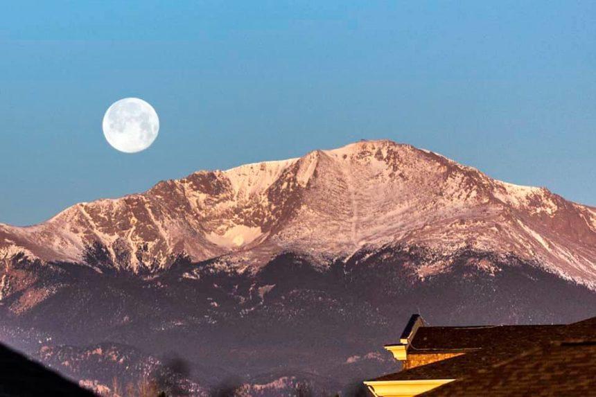 Ralph Clark pink moon