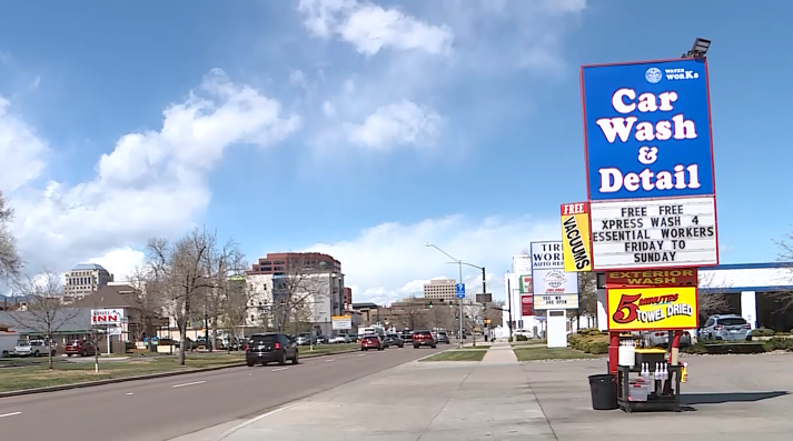 Colorado Springs Car Wash Gives Free Washes To Essential Workers