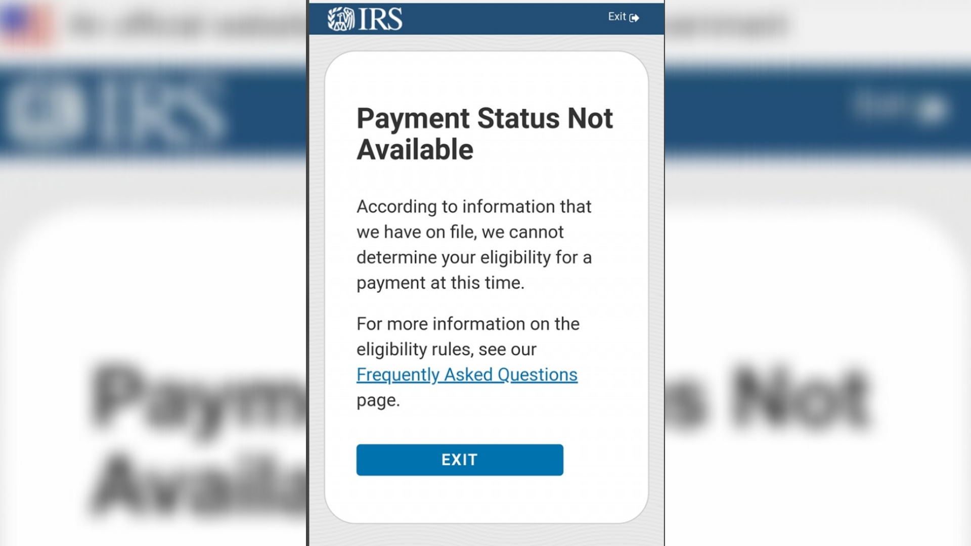People Say They Cant Find Their Stimulus Check Using The Irs