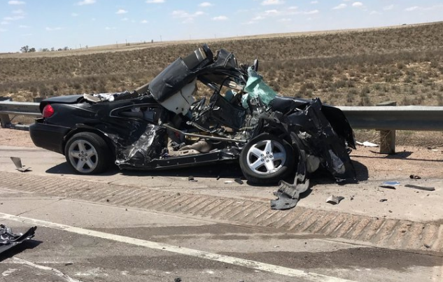 crash la junta highway 287