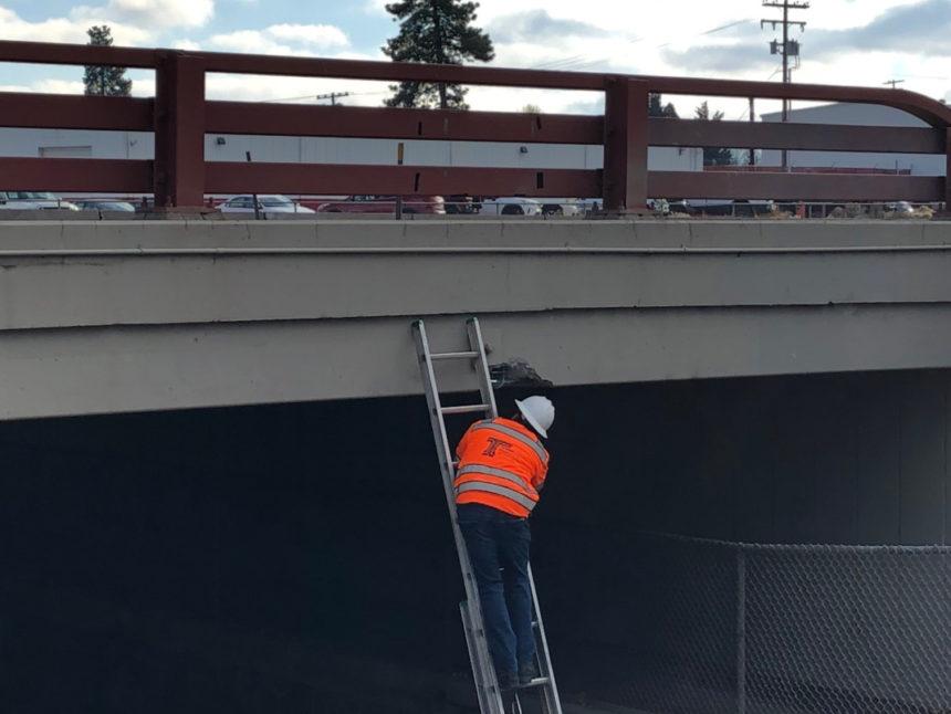 Franklin underpass closure