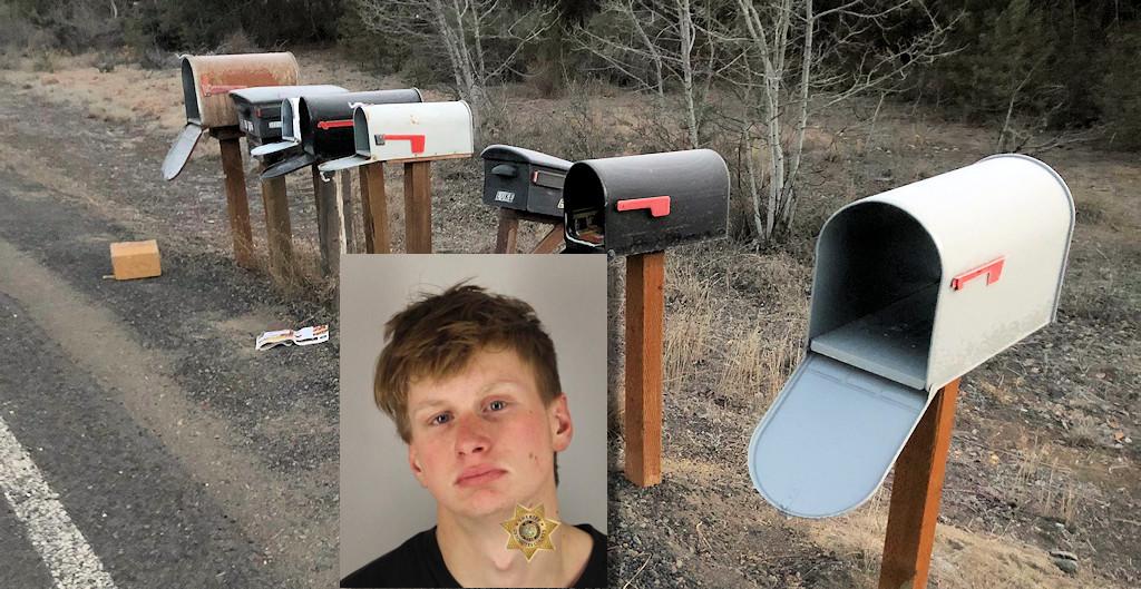La Pine mailboxes, David Nessly