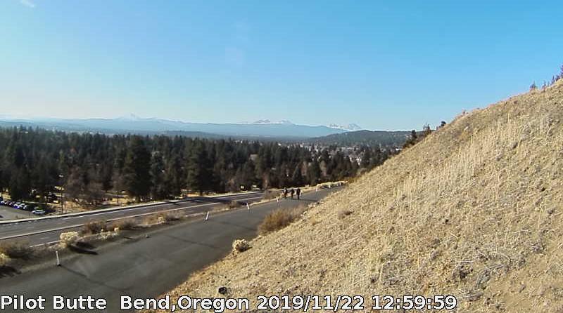 Pilot Butte webcam view