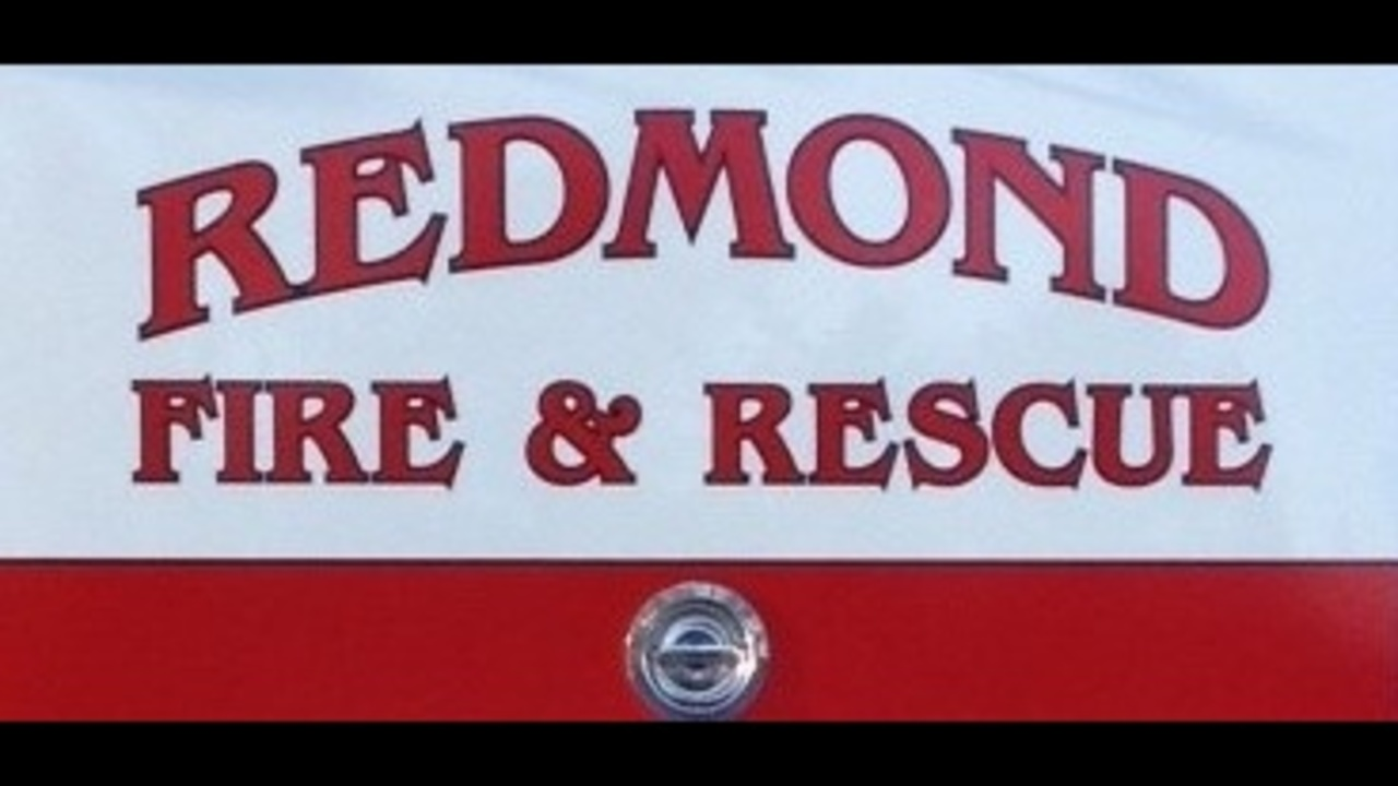 Redmond fire truck