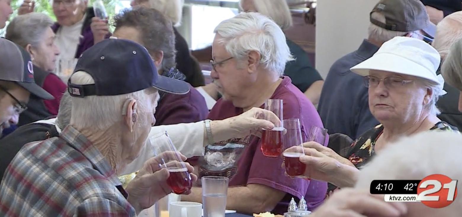 Free holiday meals for seniors