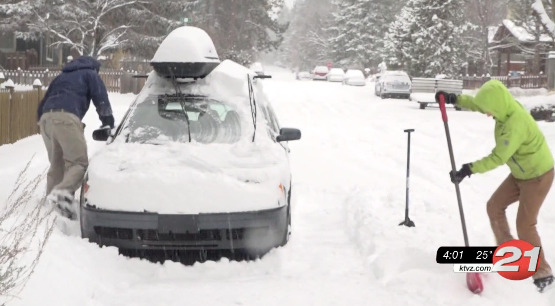Shoveling snow -2019
